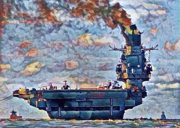 О чём ты дымишь, «Адмирал Кузнецов»?