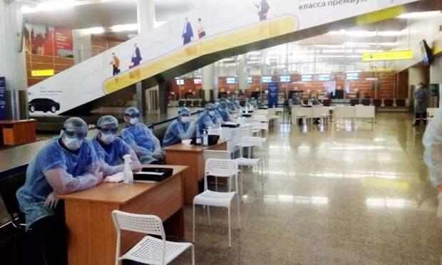 Спасатели завершили дежурство в аэропортах столицы