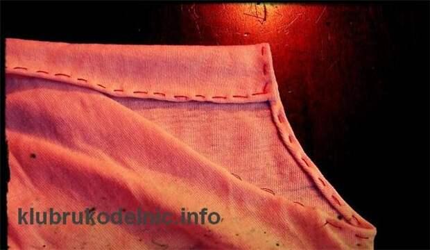 Новое из старого - детское платьице из фуболки
