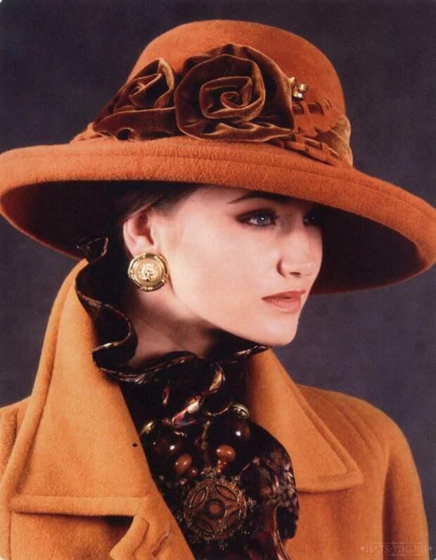 Шикарная шляпа из фетра