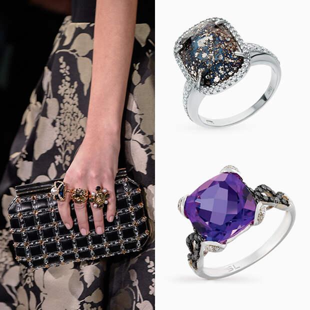 002 small 1 Драгоценный тренд сезона: <br> украшения с крупными и очень крупными камнями