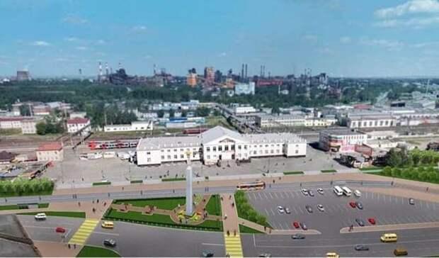 Проектом капремонта привокзальной площади вТагиле займется екатеринбургская компания