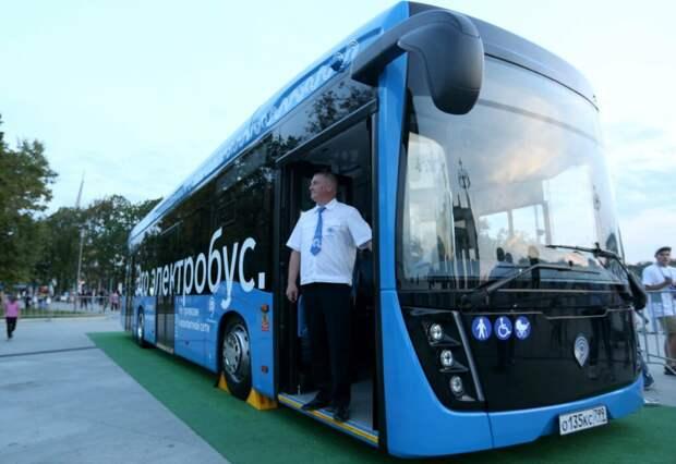 Электробусы вслед за Москвой идут в регионы