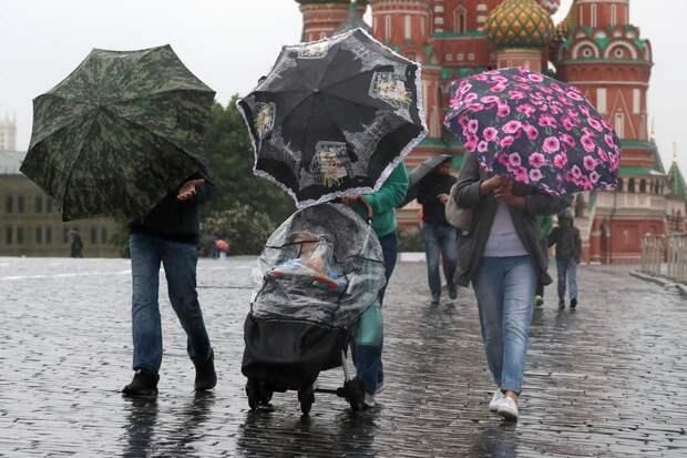 Май в Москве вошел в число самых дождливых в XXI веке