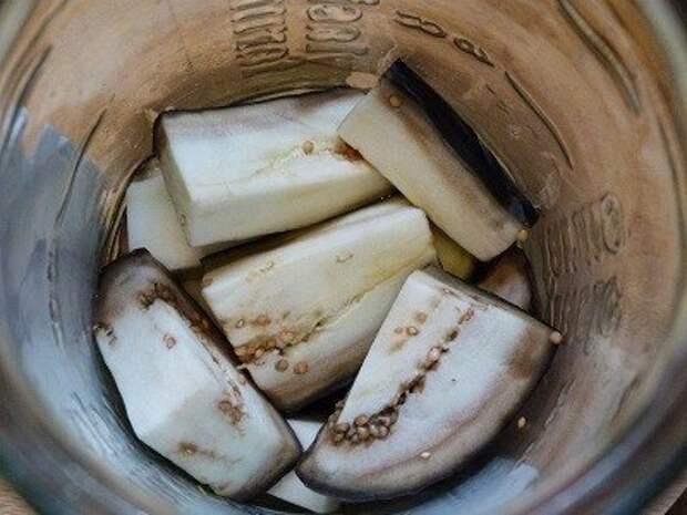Салат из синеньких солено-маринованный «Скатерть Самобранка»
