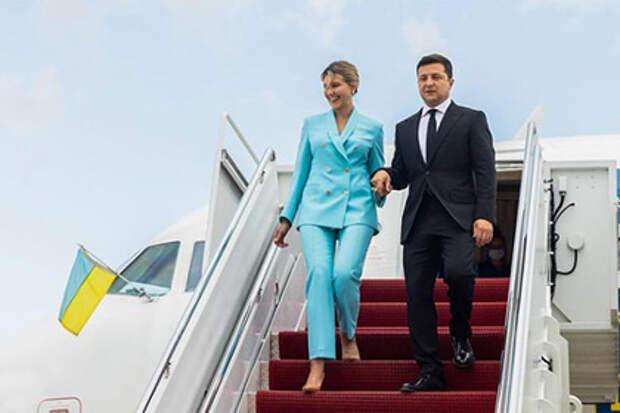 Зеленский прилетел в США на встречу с Байденом