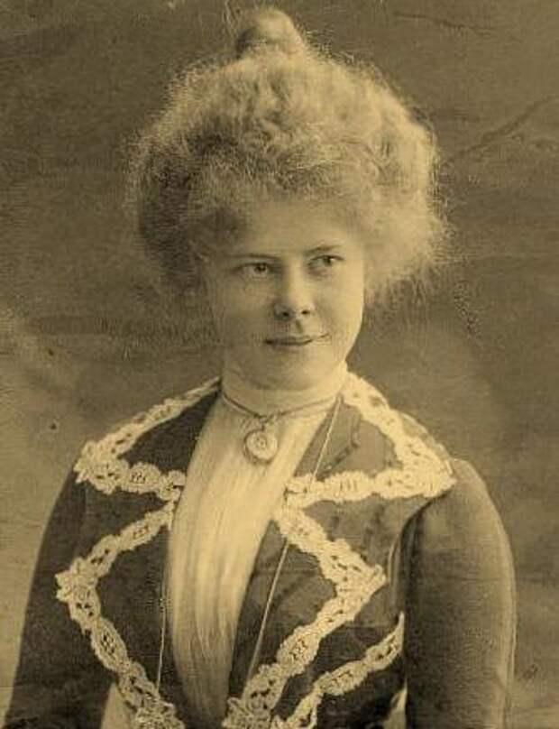 Жена П.П. Киткина Ольга Леонидовна Киткина