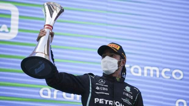 """Хэмилтон выиграл третий этап """"Формулы-1"""" в этом сезоне"""