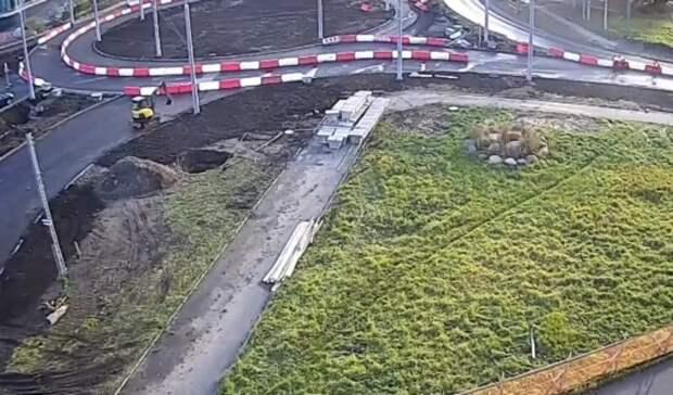 Новую развязку «осьминожку» частично открыли в Петрозаводске