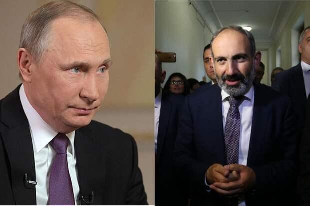 «Россия – стратегический союзник Армении»: Пашинян рассказал, о чем говорил с Путиным