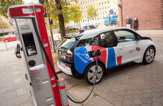 Электромобили зарядят за счет налогов россиян