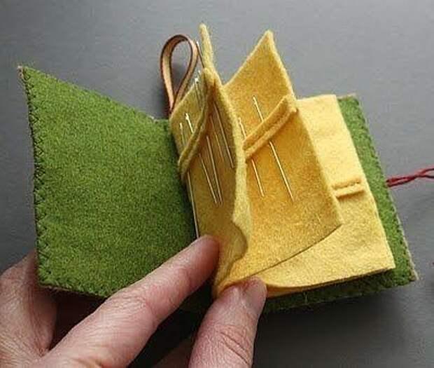 Игольница-книжечка, отличная идея!
