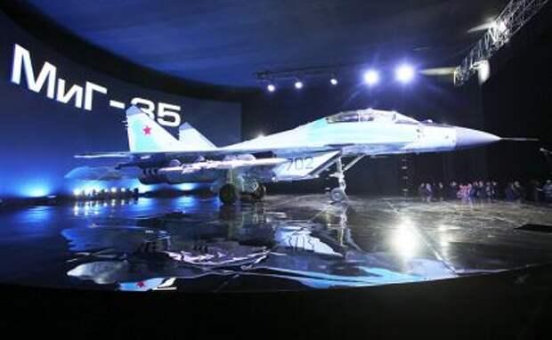 На фото: многоцелевой истребитель МиГ-35