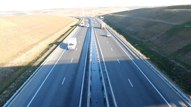 Крымчане пришли в восторг от видео с преображением новой трассы Евпатория — Черноморское