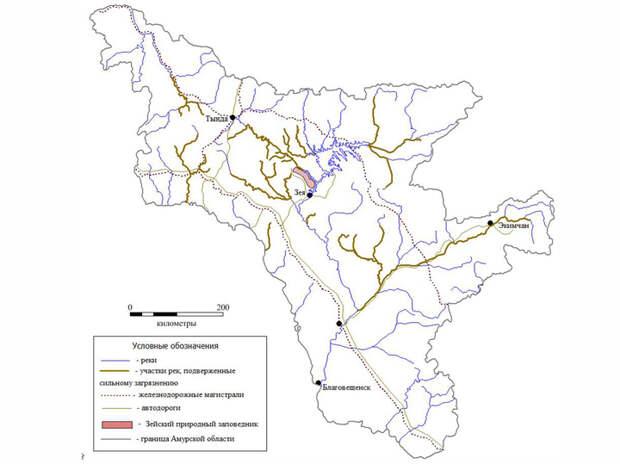 Золотодобытчиков обвинили в экологической катастрофе на Амуре