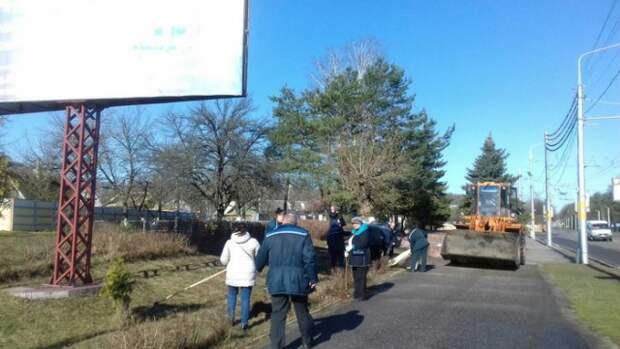 Первомайский район принял участие в мероприятиях по наведению порядка.