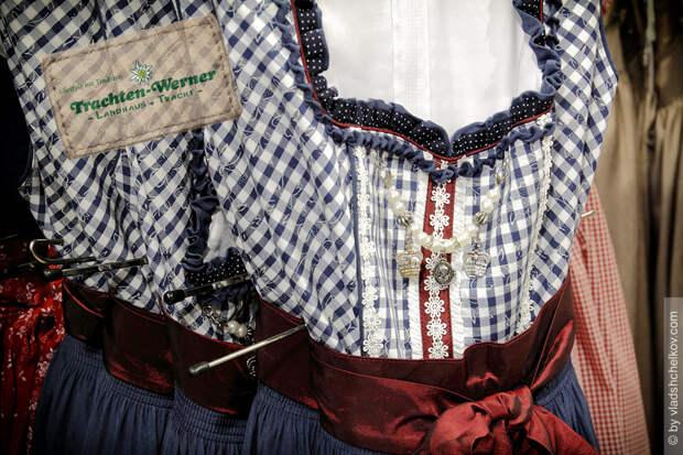 Магазин национальной одежды Trachten Werner, Mittenwald