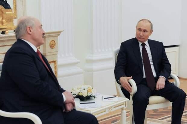 Путин и Лукашенко встретятся на следующей неделе в Сочи