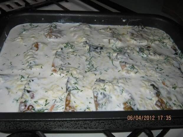 Скумбрия в духовке - нежная и вкусная