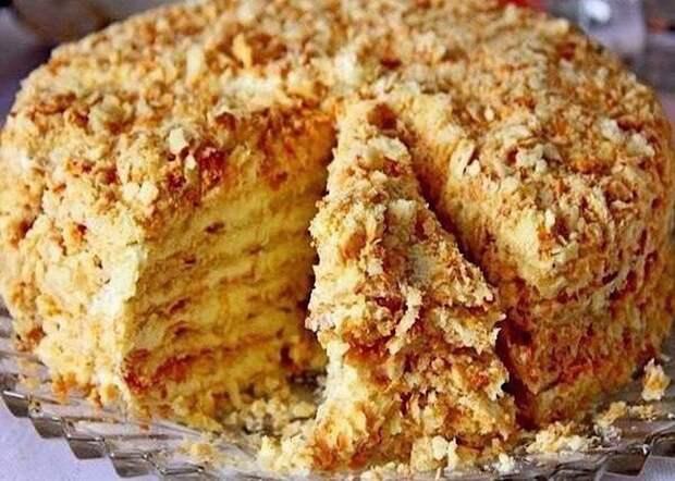 Отменный тортик без выпечки «Светлана»
