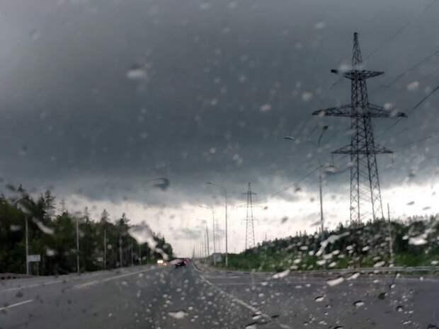 МЧС Карелии выпустило экстренное предупреждении о ливнях с грозами