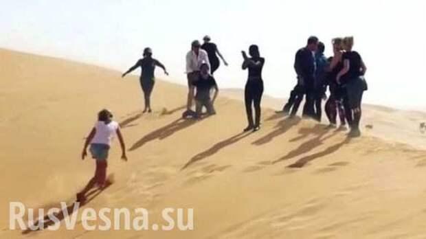 Скандал: британский рок-музыкант Род Стюарт на съемках клипа устроил «казнь» в стиле ИГИЛ (ФОТО, ВИДЕО)
