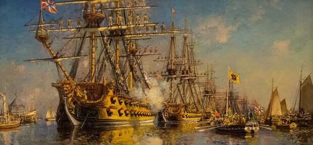 """""""Всегда под рукой"""": как хранили оружие на русском флоте 200 лет назад"""