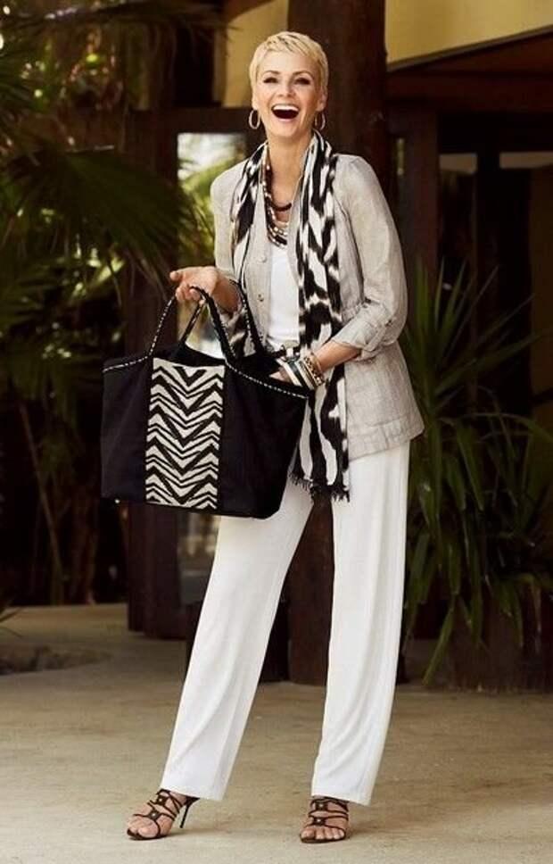 Классическая элегантность для женщин 60+