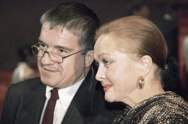 Наталья Гундарева и Михаил Филиппов