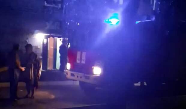Впожаре наулице Минской вТюмени погиб мужчина