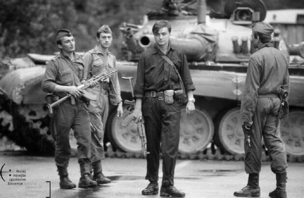 Словенских националистов возмутило, что им напомнили об убийствах солдат Югославской Народной Армии