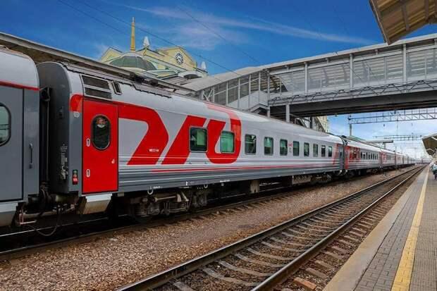 В Красноярске 23-летний парень попал под поезд