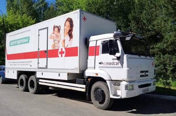 В Ижевске на Центральной площади на три дня откроют прививочный кабинет