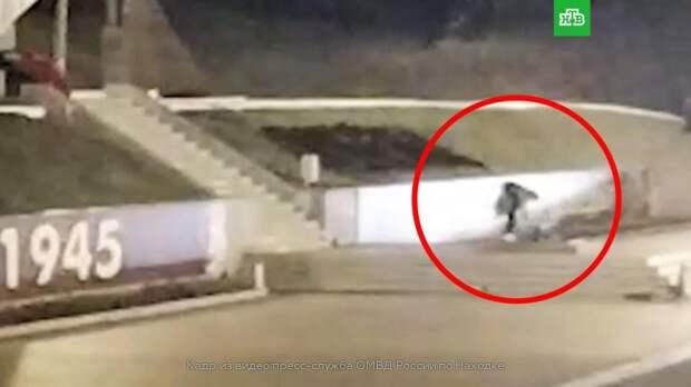 В Приморье пьяный студент забросал Вечный огонь растениями