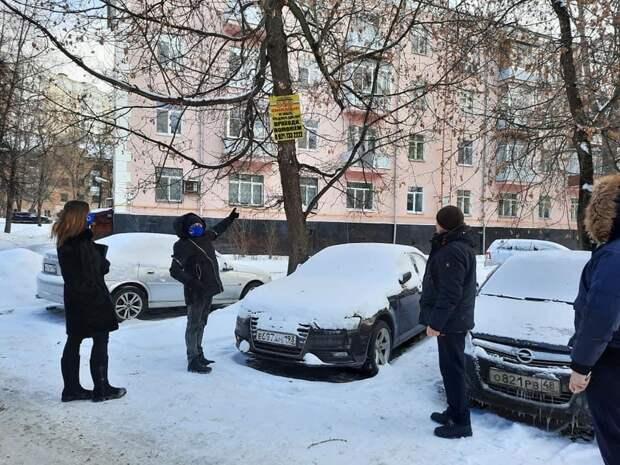 Слаженную работу коммунальщиков отметили в ходе обхода на Осташковской