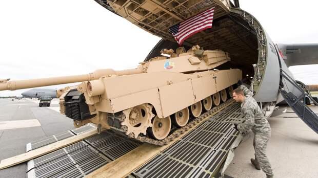 Какую войну нам готовят США: о планах НАТО по переброске в Европу «Абрамсов» стреляющих снарядами с обедненным ураном