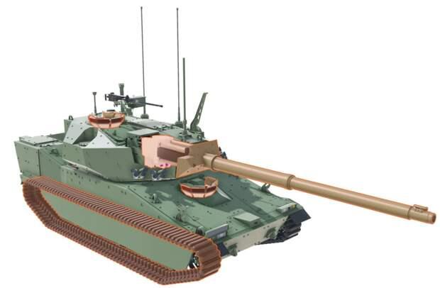 BAE Systems представила облик танка будущего для Армии США