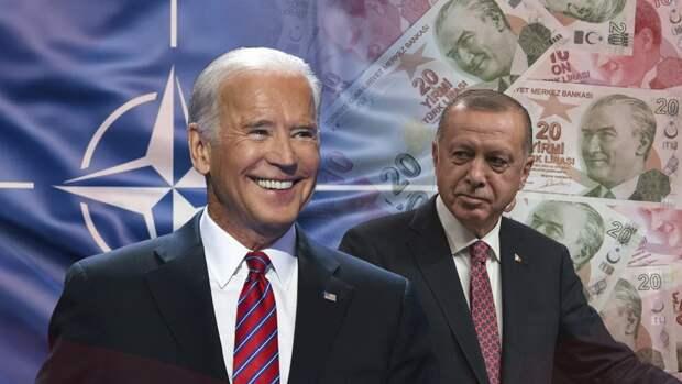 Заискивания Эрдогана перед Байденом не помогли укрепить турецкую лиру