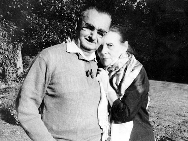 Василий Абгарович и его Лиля (1976 г.)