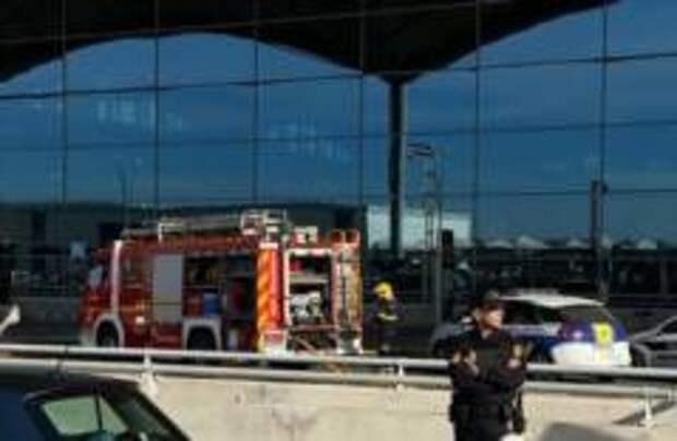 Аэропорт Аликанте закрыт из-за пожара