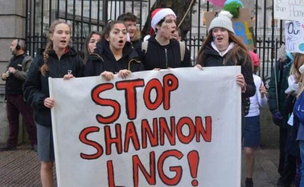 Ирландия нанесла удар по поставкам СПГ из США в Европу, остановив Shannon LNG
