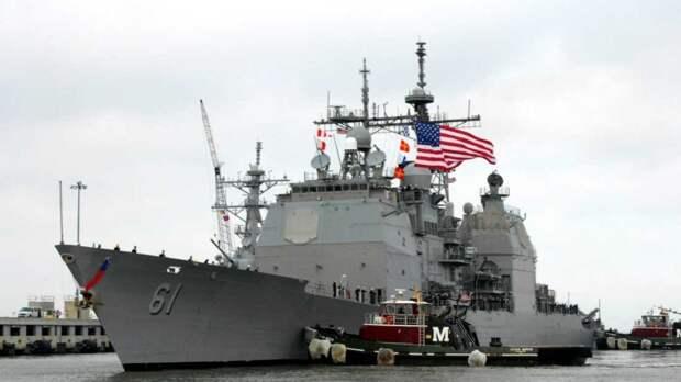 Американцы открыли предупредительный огонь из пулемета по иранскому кораблю