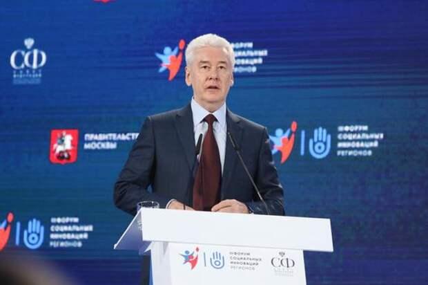 Сергей Собянин сообщил в продлении нерабочих дней Москве до 19 июня включительно