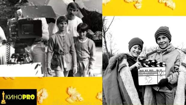 """Мио, мой Мио"". О чём Астрид Линдгрен спрашивала советского режиссёра Грамматикова. Кадры со съёмок сказки"