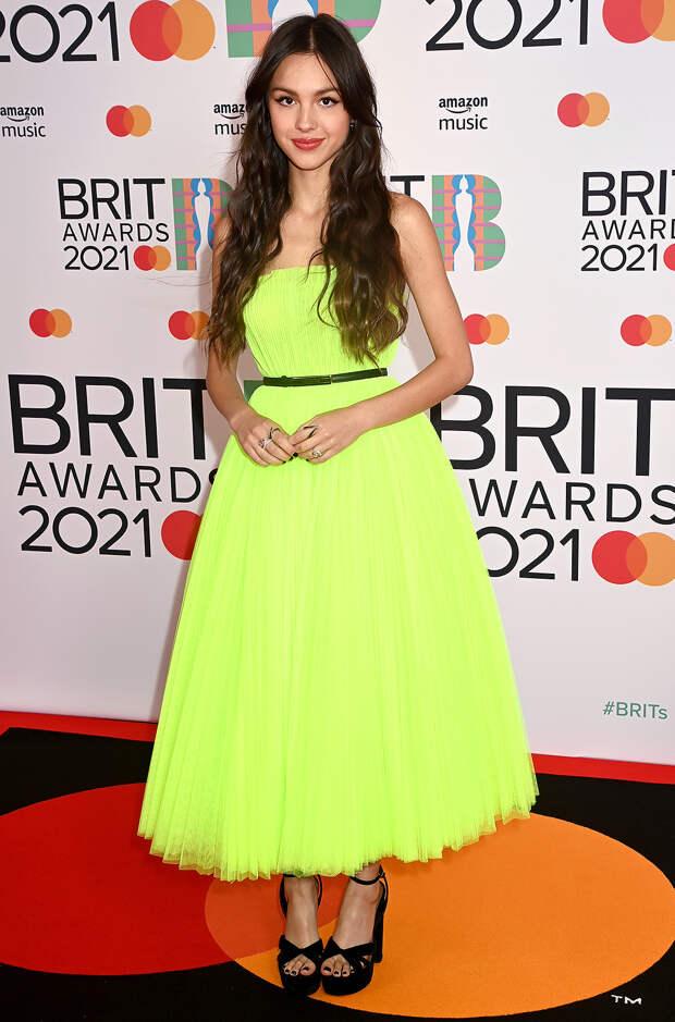 Оливия Родриго BRIT Awards 2021