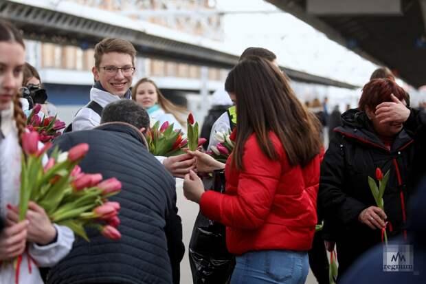 В честь 8 Марта в России проводится акция «Вам, любимые!»