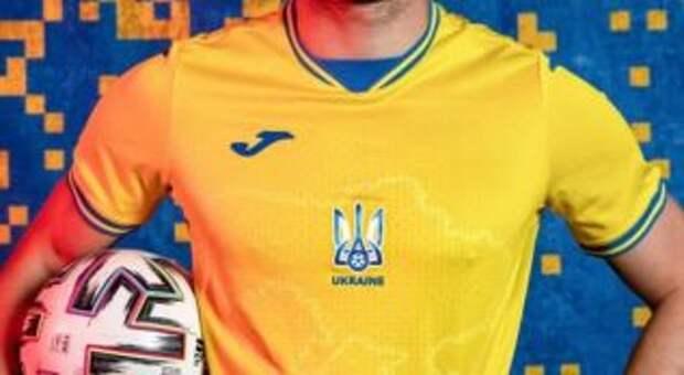 Гончаренко предложил дополнить территориями РФ карту Украины на форме Национальной сборной