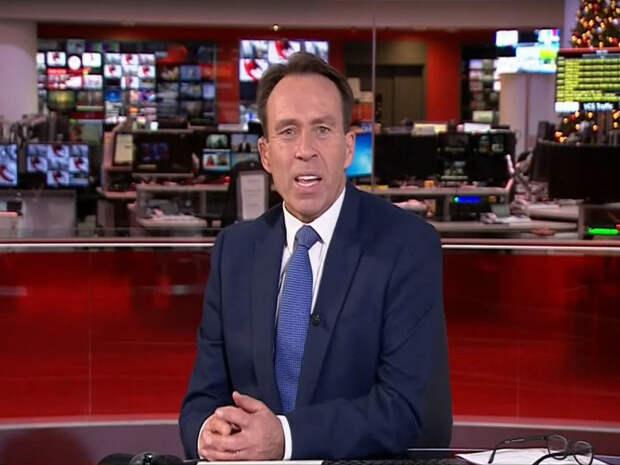 Ведущий новостей зевнул в прямом эфире