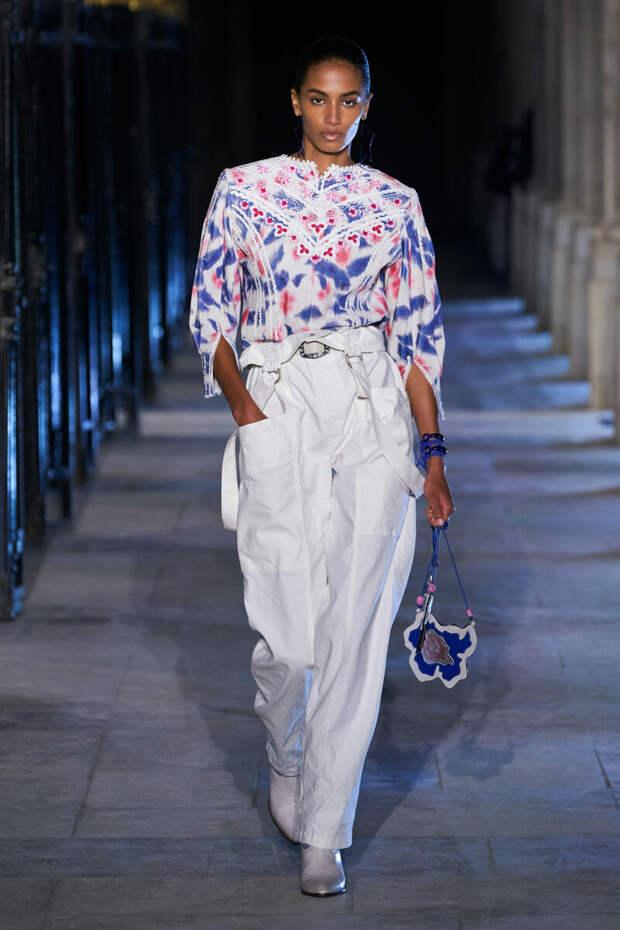 Смотрим стильные образы: Стиль Бохо на весну-лето 2021 от французского дизайнера