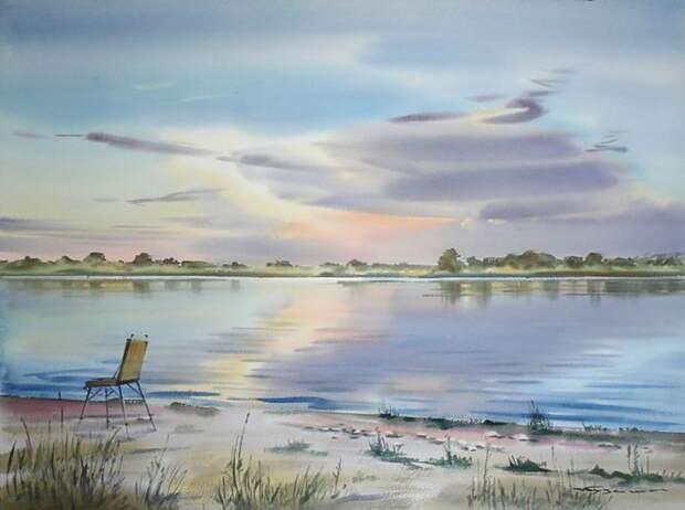 Сидим мы с Емельянычем на берегу Оки, чай пьём (700x521, 43Kb)